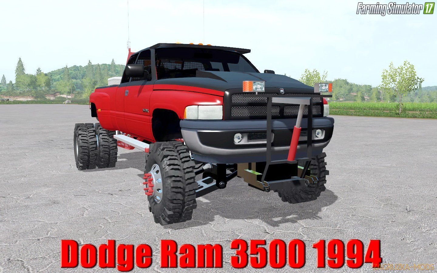 Dodge Ram 3500 1994 v1.0 for FS17