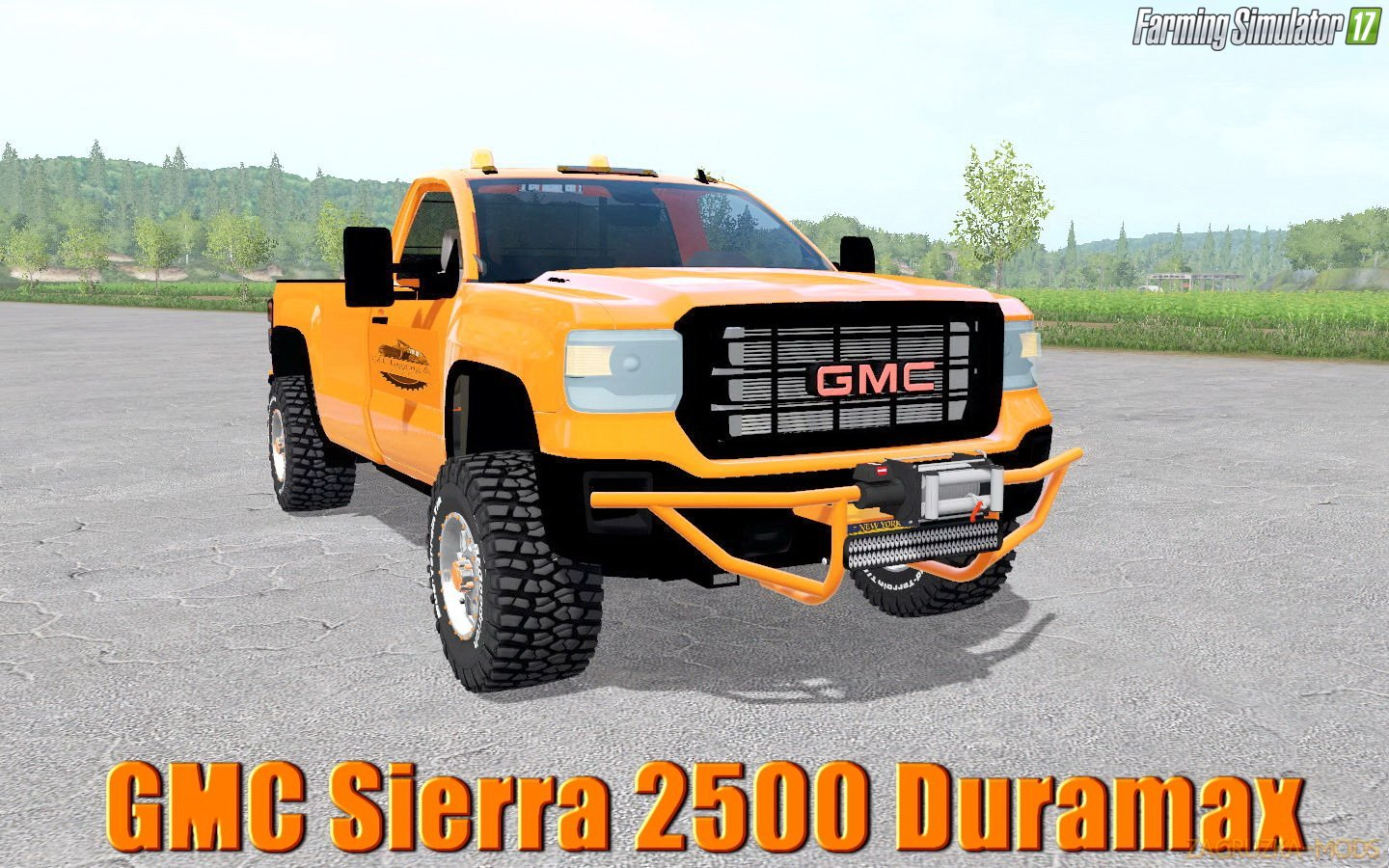 GMC Sierra 2500 Duramax v1.0 for FS17