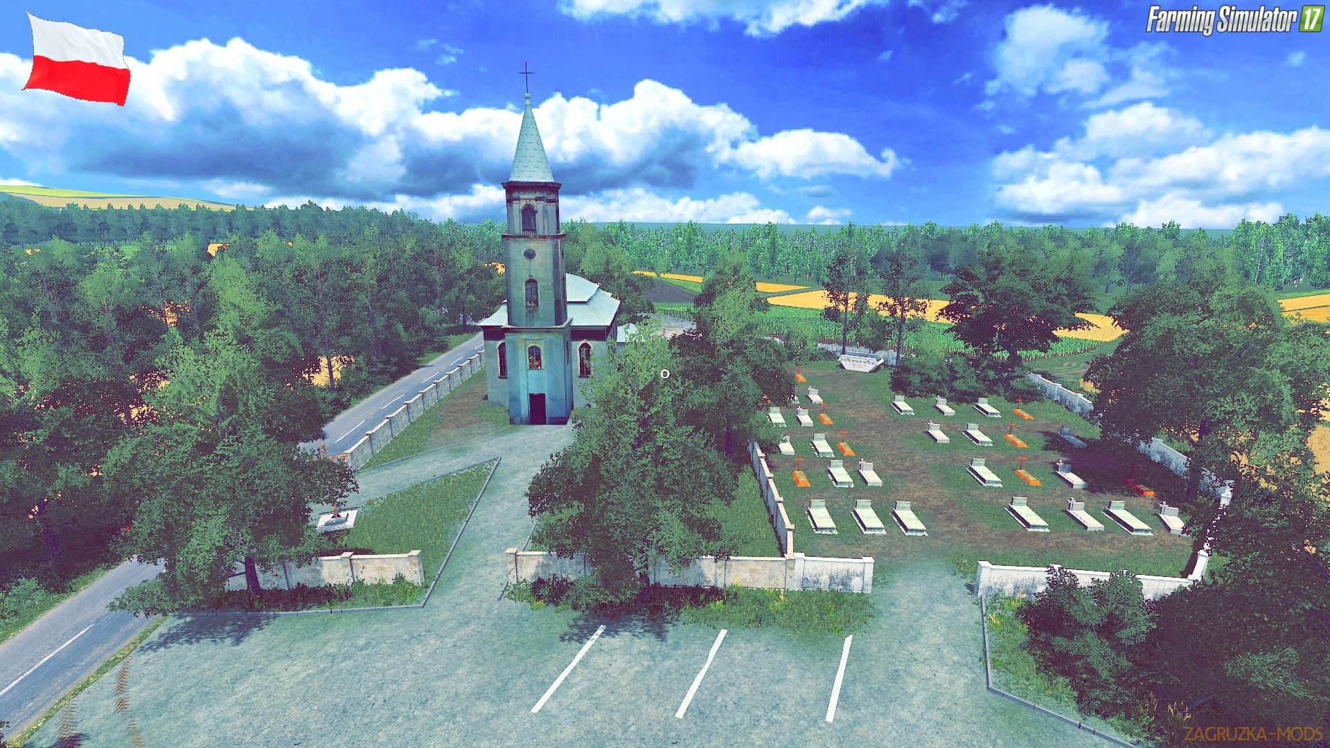 Poland Village Map v2.0 by Kopniak for FS17