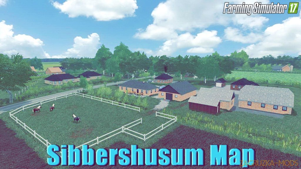 Sibbershusum Map v1.2 for FS17