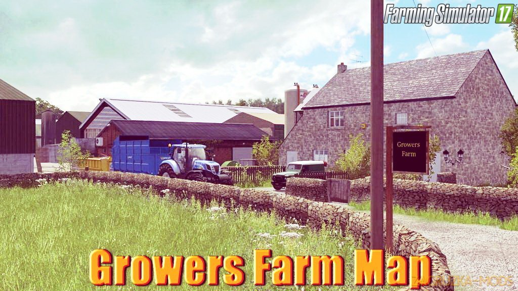 Growers Farm Map v1.0 for FS17
