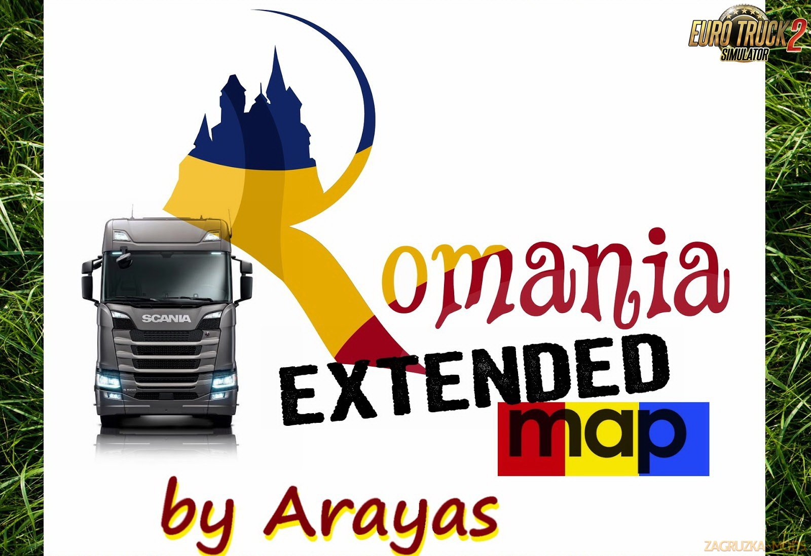 Romania Extended Map v1.9 by Arayas [1.32.x]