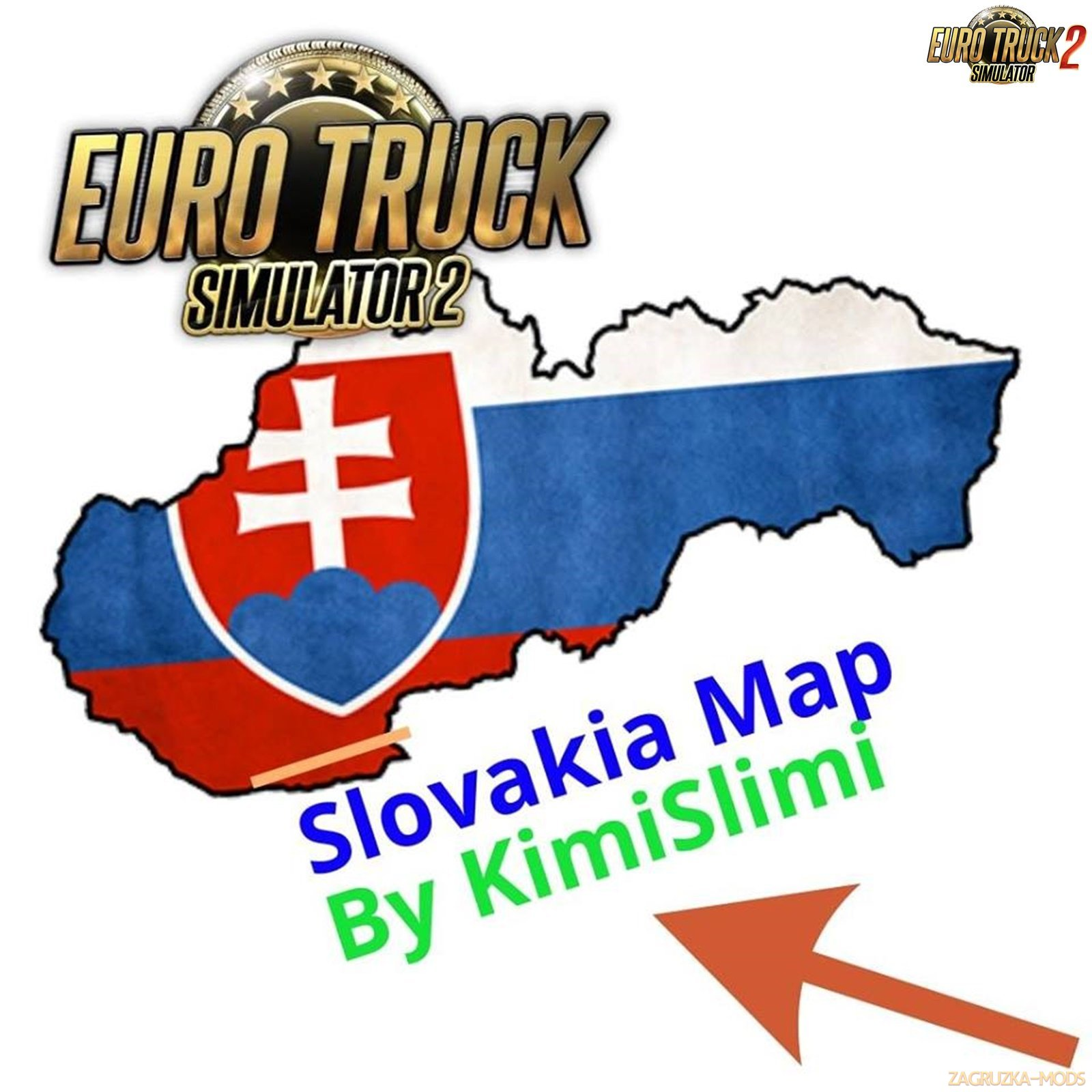 New Slovakia Map v9.0B by KimiSlimi (1.32.x)