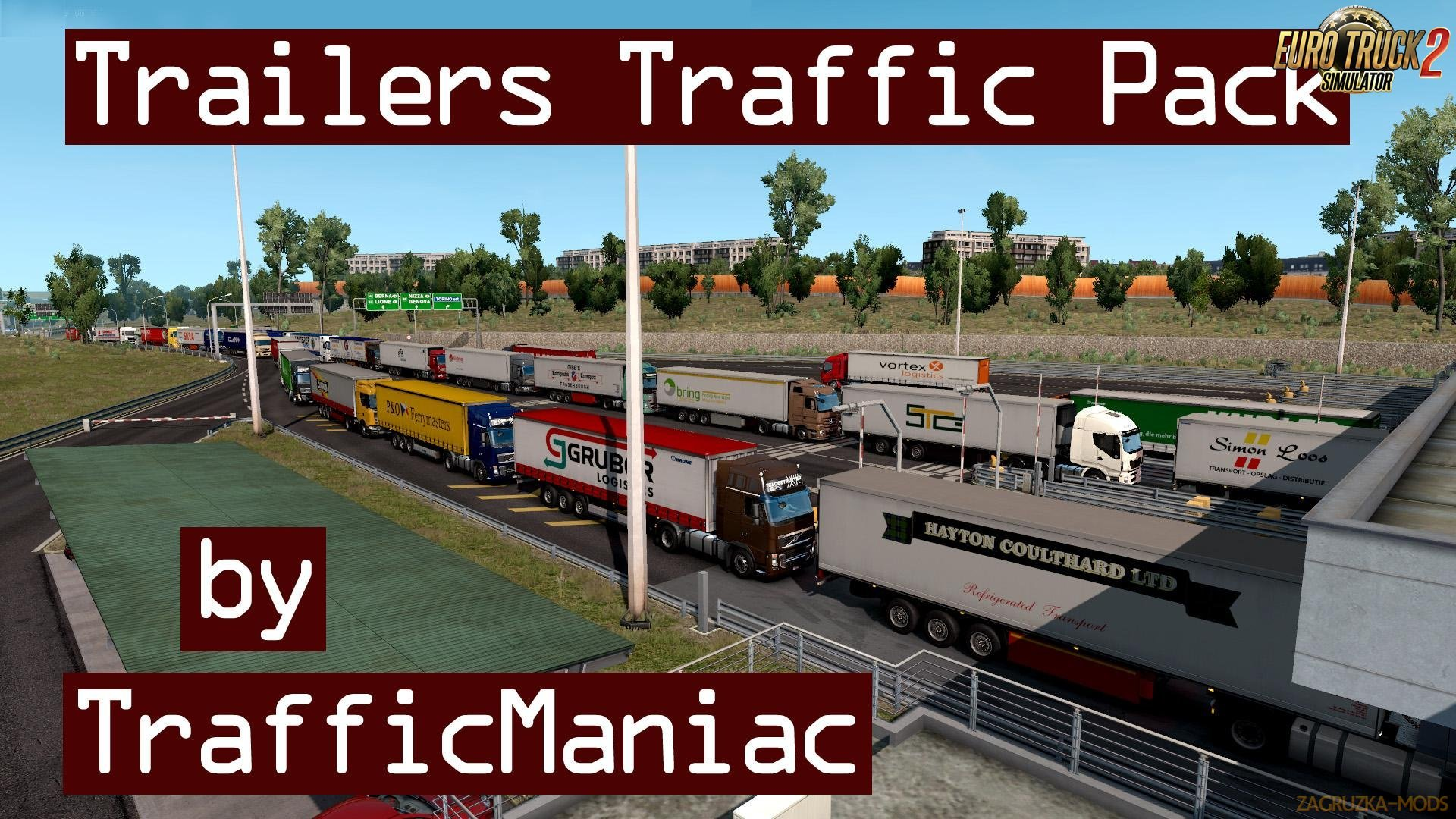 Trailers Traffic Pack v1.1 by TrafficManiac