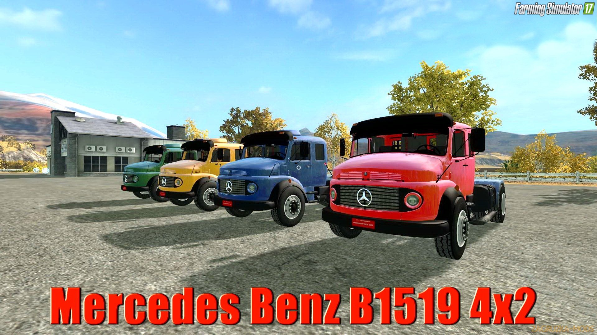Мercedes Benz B1519 4x2 v1.0 for FS17