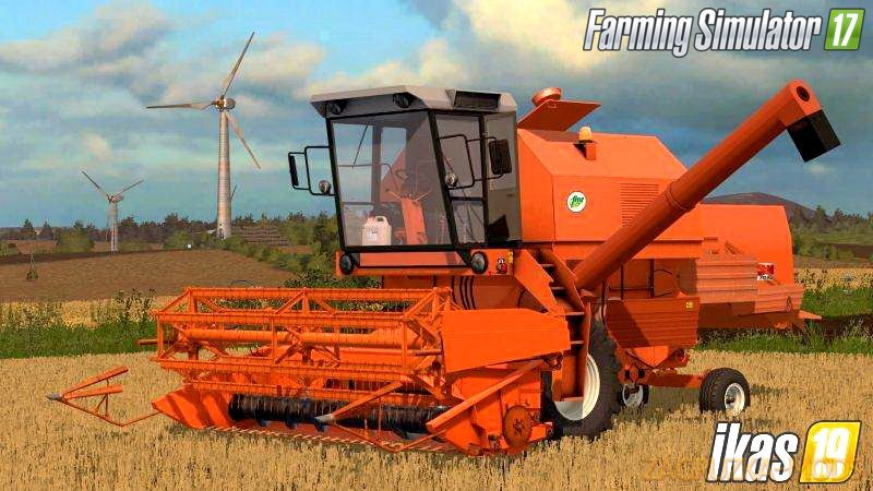 Combine Bizon Z058 Rekord Miodek v1.0 for FS17