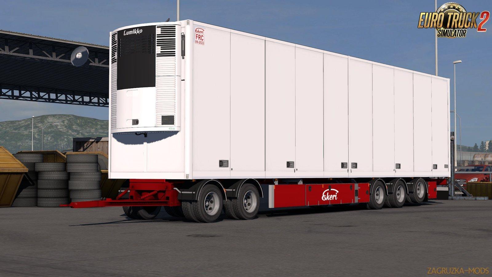 Ekeri Tandem trailers ADDON v2.0.4 by Kast (1.34.x)
