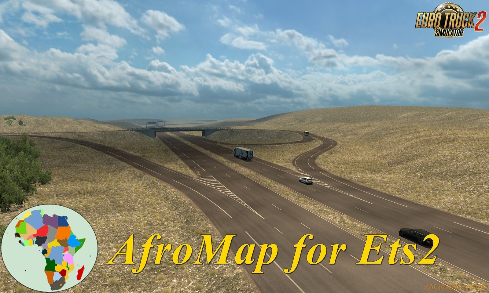 AfroMap v1.7 for Ets2 [1.32.x]