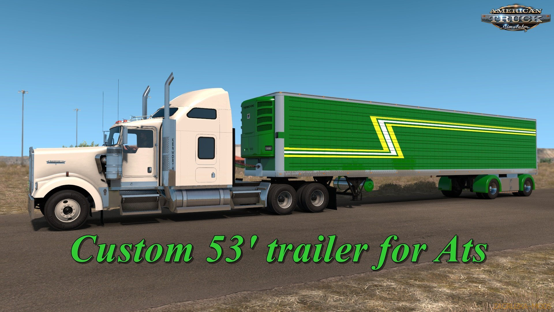 Mod Custom 53 Trailer v1.7 (1.35.x) for ATS