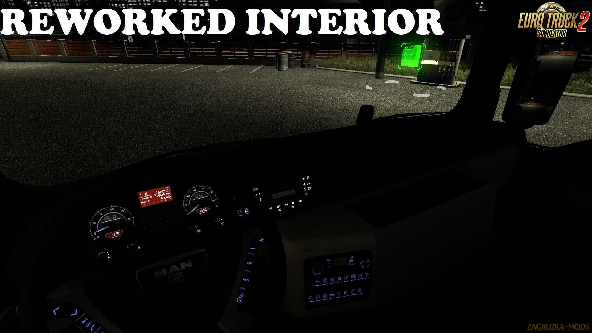 Reworked Interior for MAN TGX