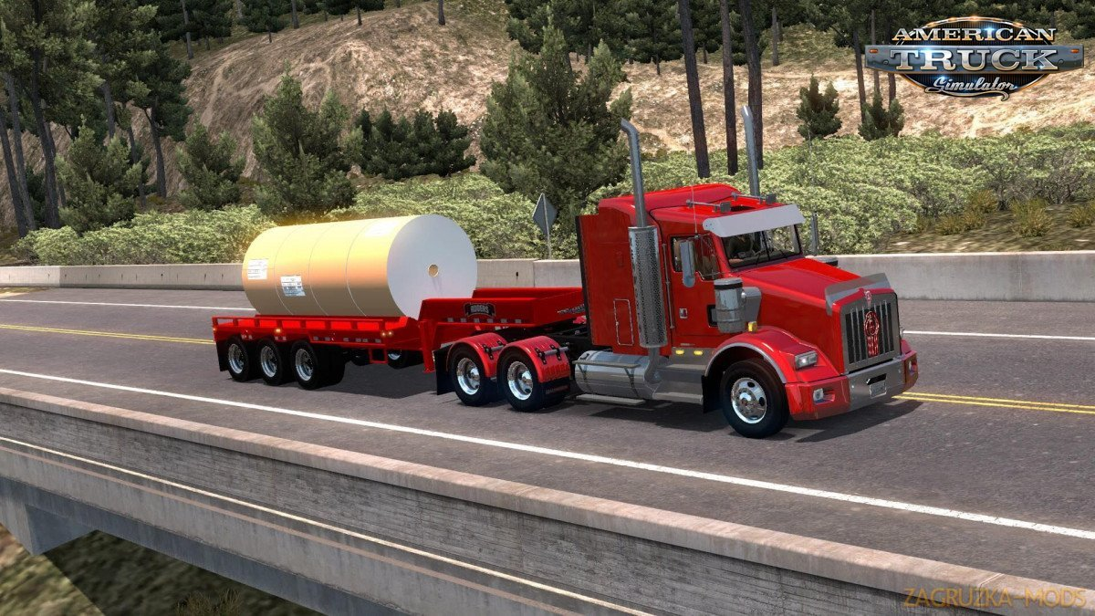 Rogers FG65L 3X Trailer 2014 v1.0 for Ats
