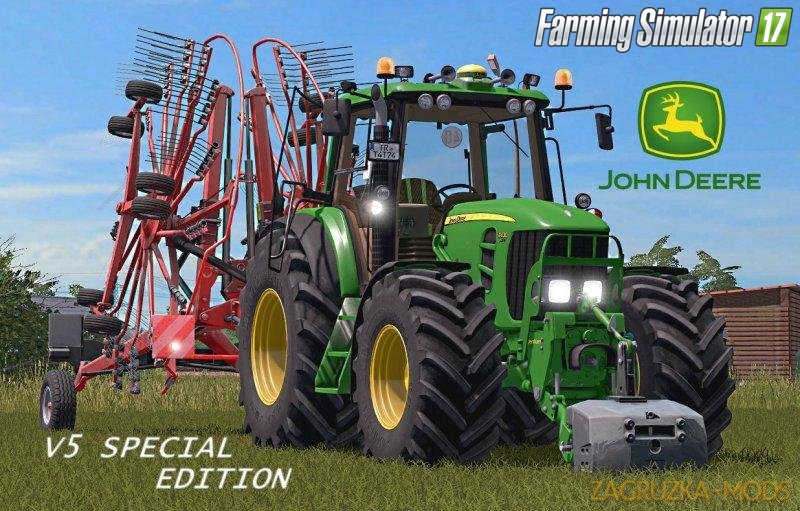 John Deere 7430/7530 v5.0 Special for FS17