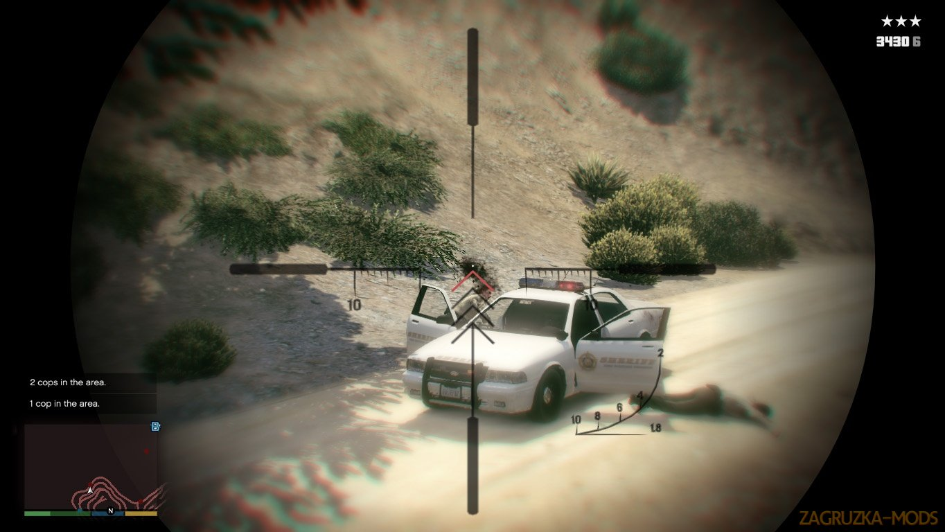 Police Killer Mod v2.9 for GTA 5