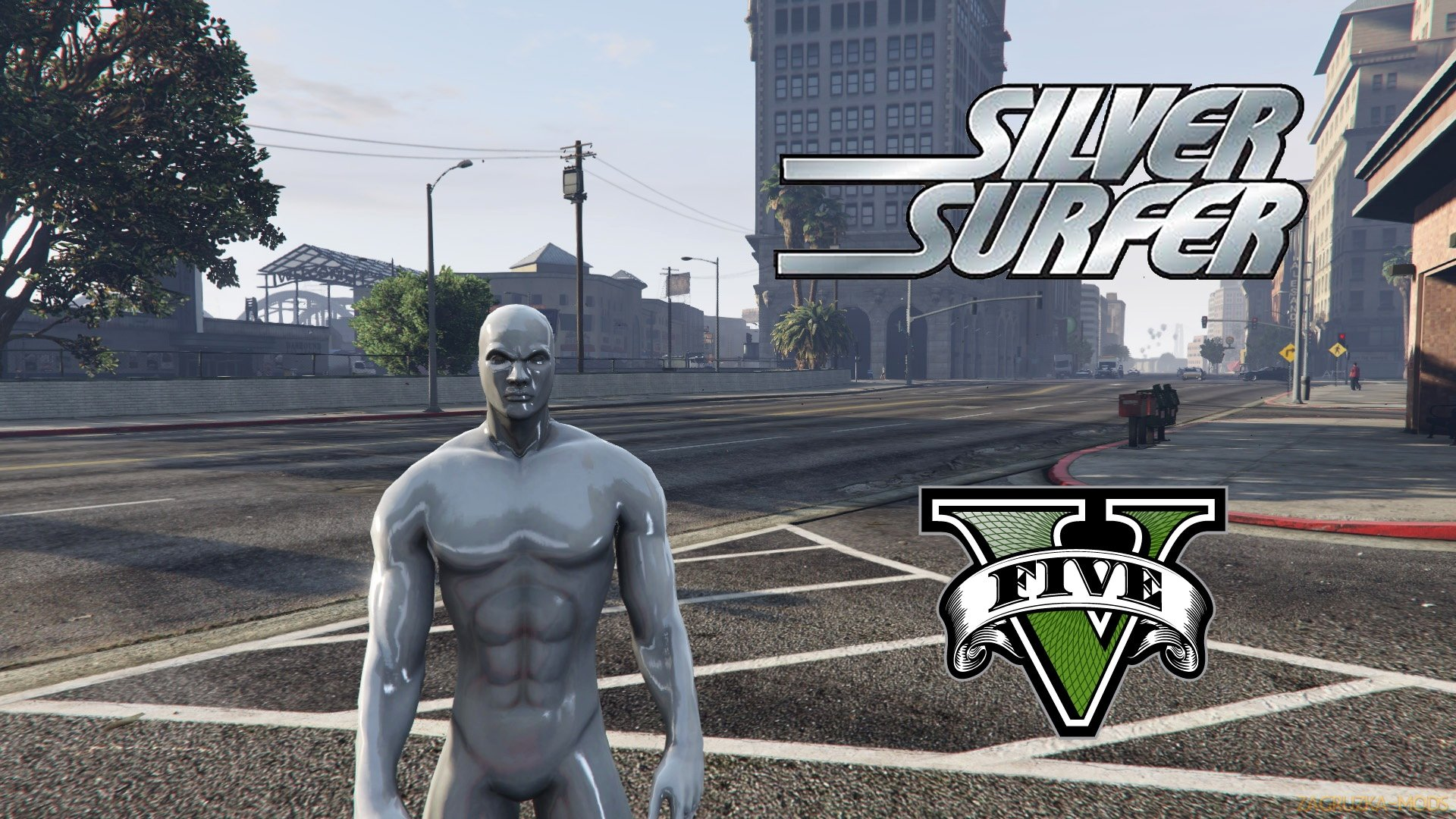 Silver Surfer Script Mod v1.0 for GTA 5