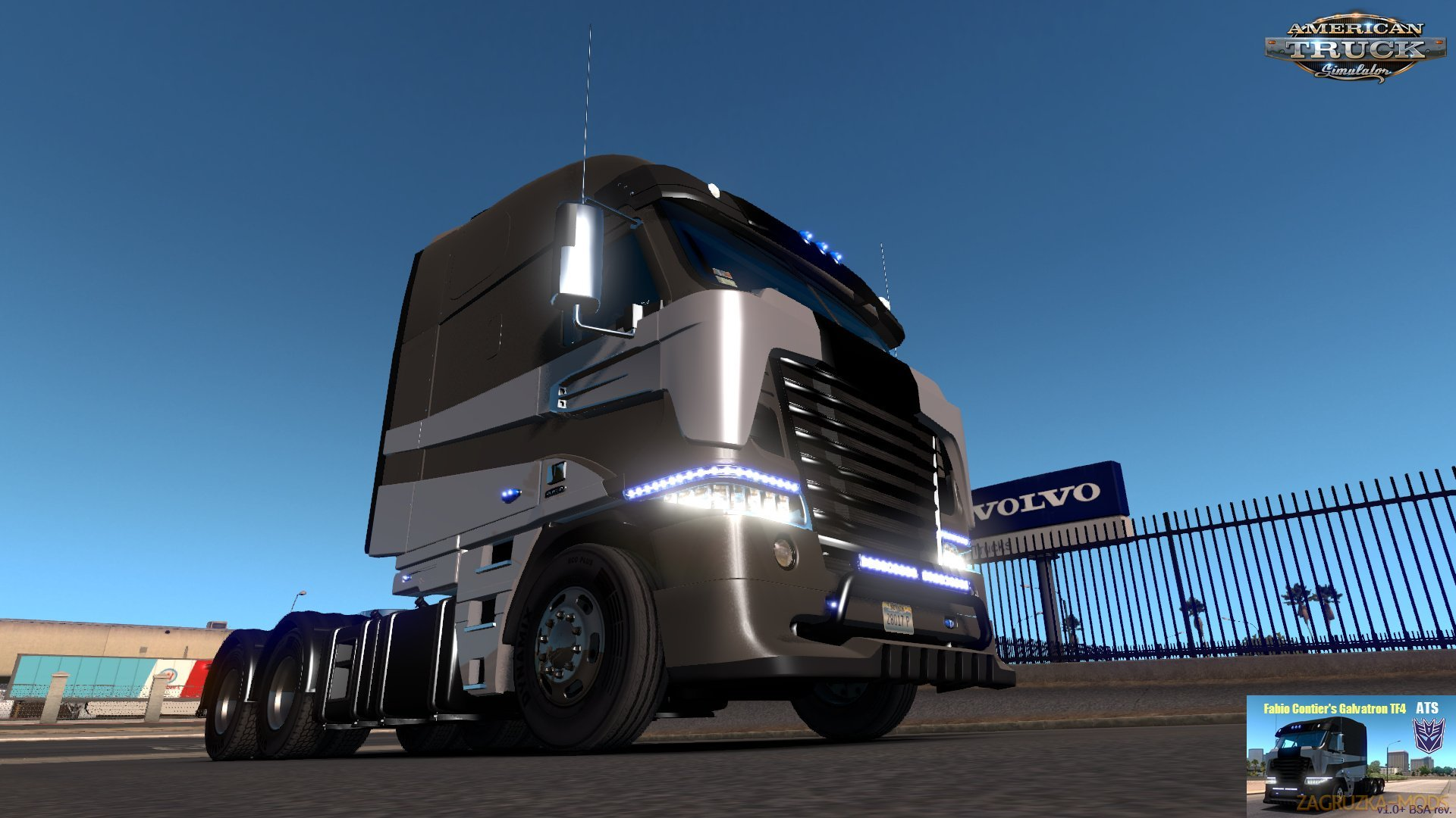 Fabio Contier's Galvatron TF4 v1.0 + (BSA Revision) for Ats [1.31.x+]