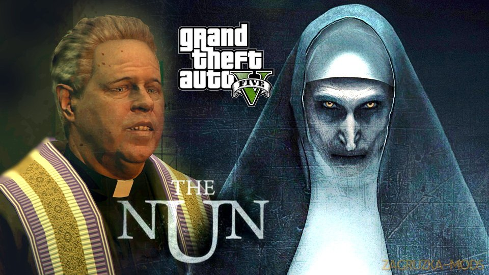 The Nun - The Conjuring [Add-On] v1.0 for GTA 5