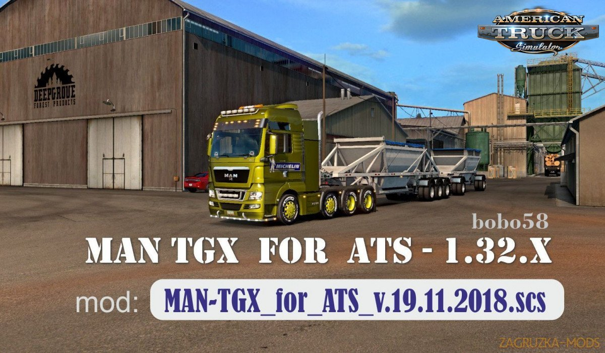 MAN-TGX for Ats v.19.11.2018