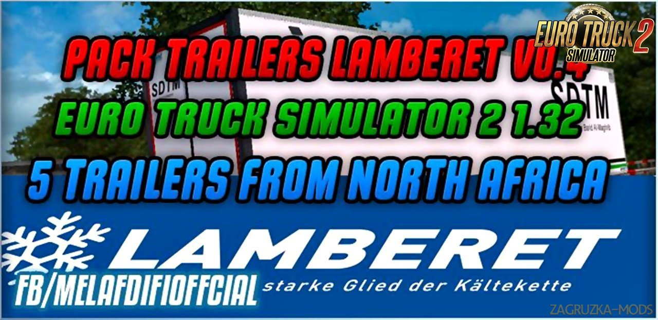 Pack Skins v0.4 For Lamberet Trailer in Ets2