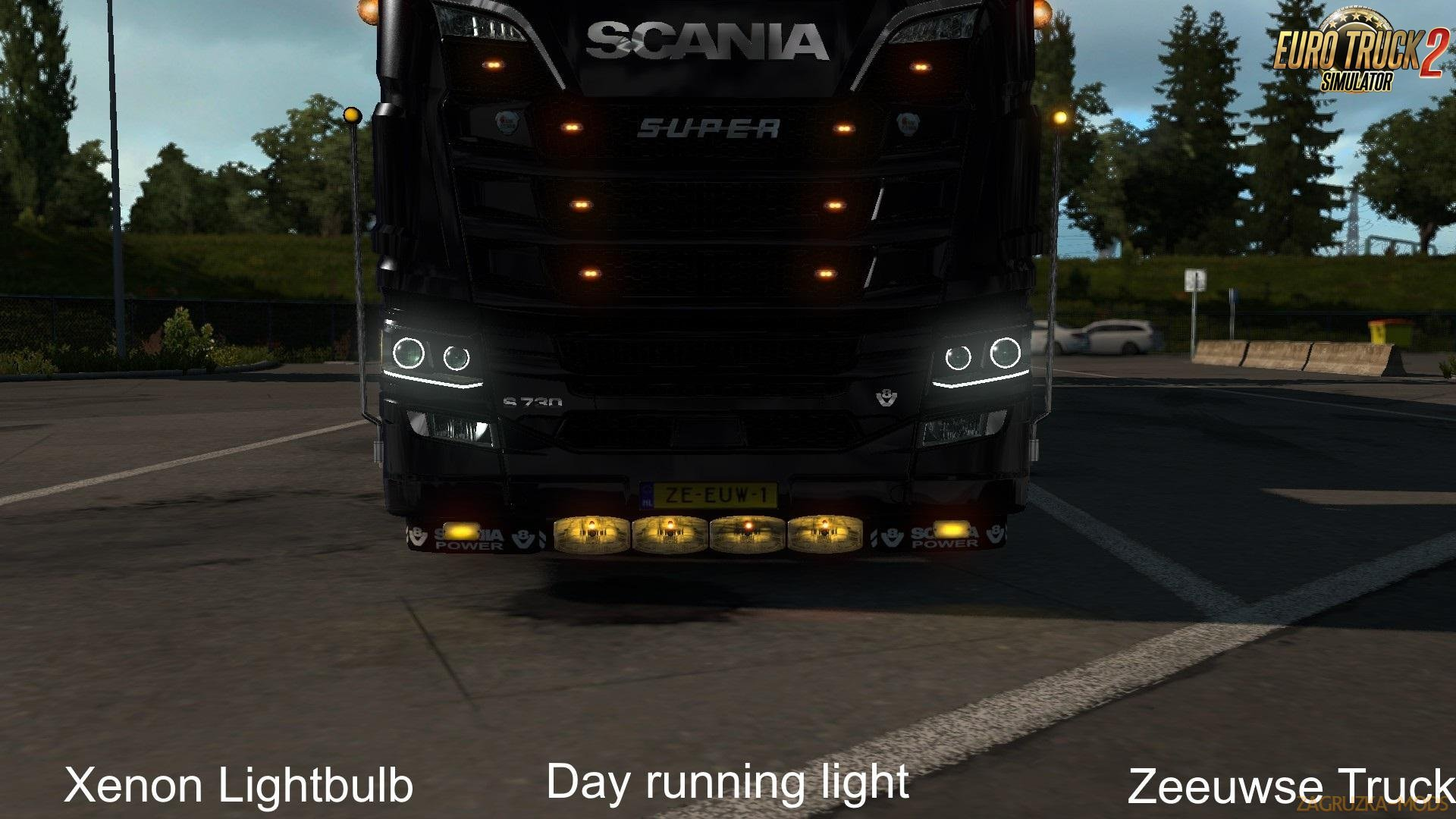 Accessories for Scania R/S 2016 (1.33 beta)
