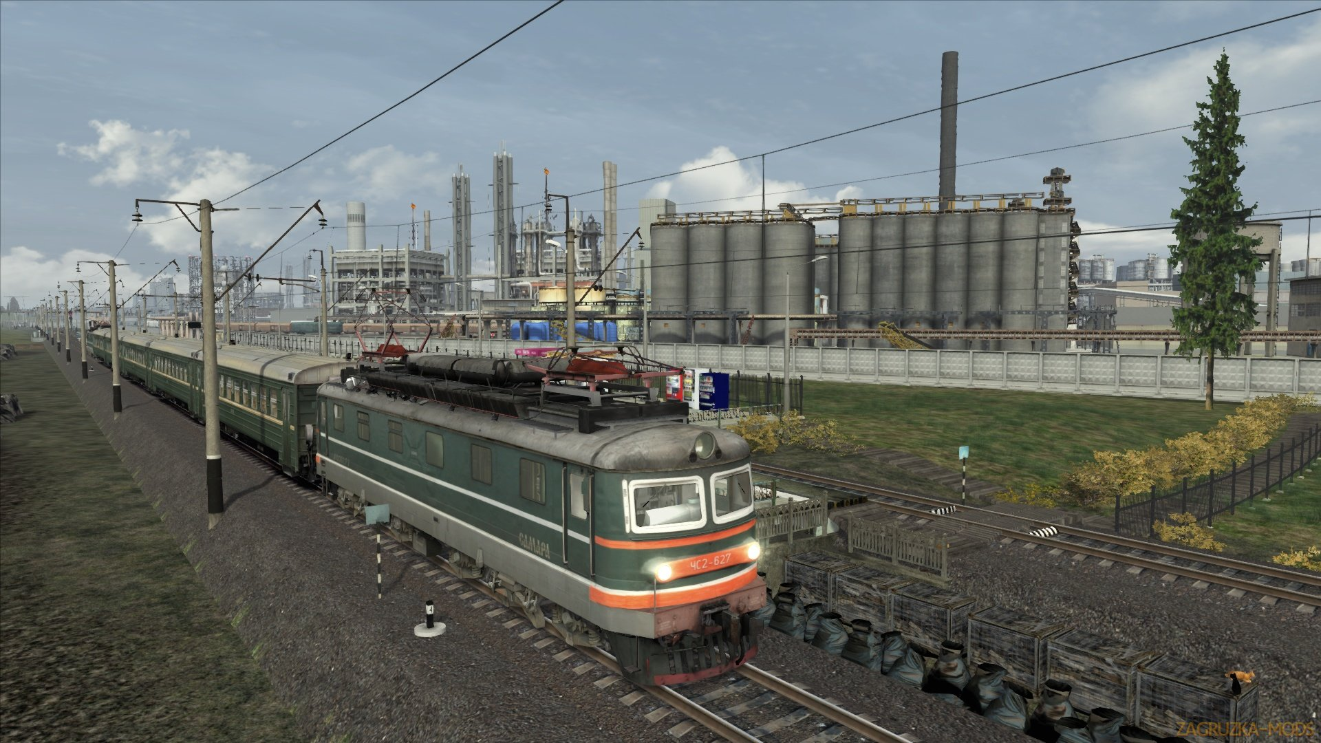 Route Novomoskovsk - Necklace (Новомосковск - Ожерелье) v3.04 for TS 2018