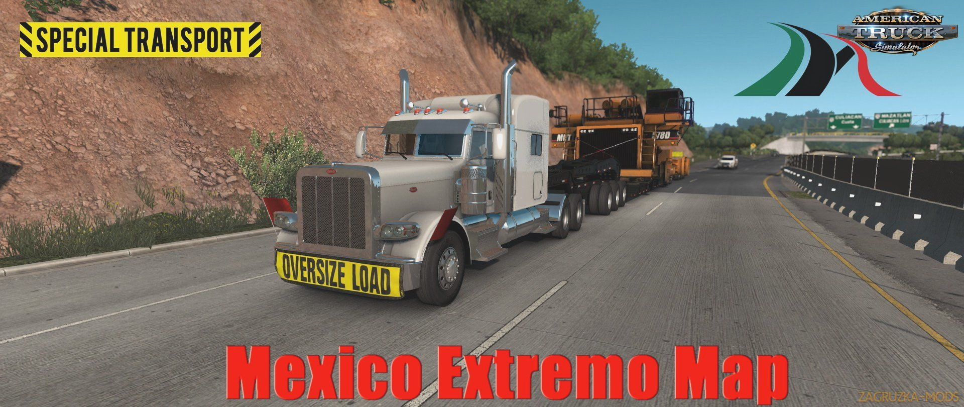 Mexico Extremo Map v2.1.7 (1.34.x) for ATS