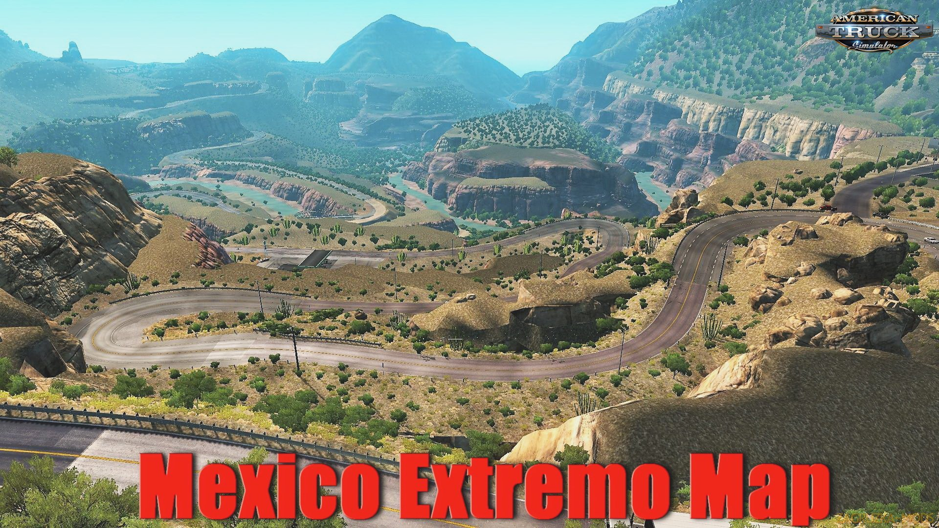 Mexico Extremo Map v2.1.10 (1.35.x) for ATS