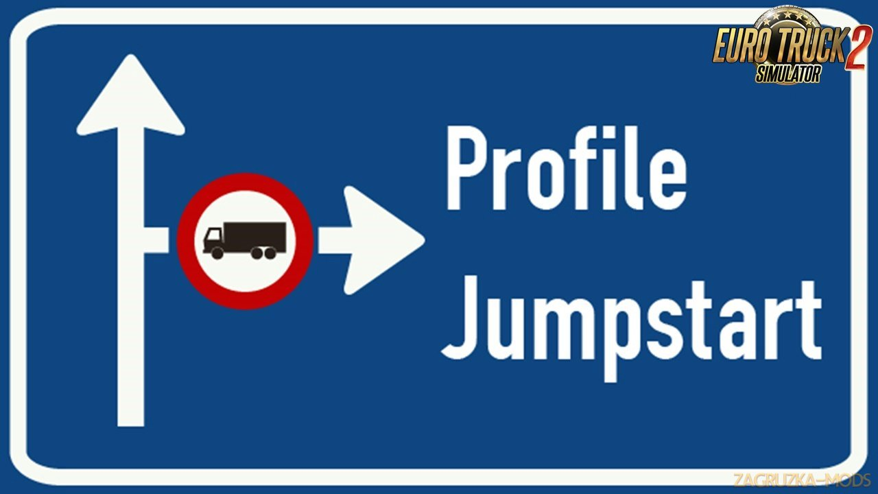 Profile Jumpstart: Cash & XP Boost v6.00 for Ets2