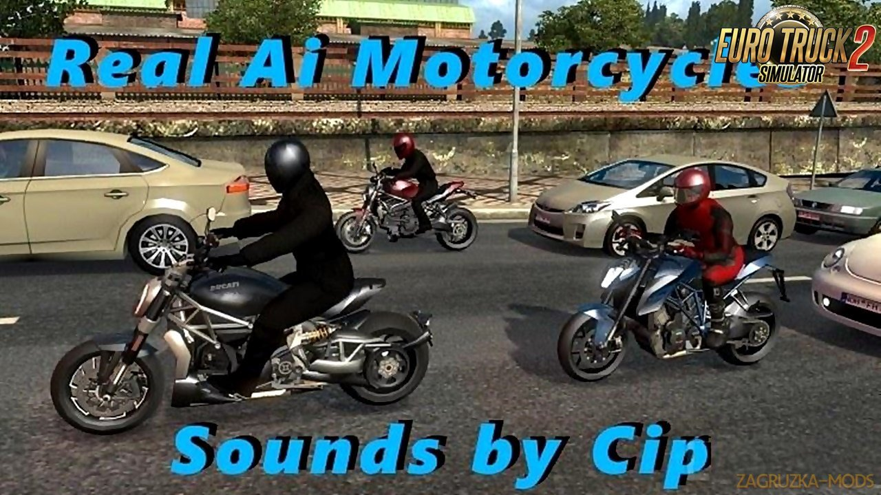 Sounds for Motorcycle Traffic Pack v1.8 by Jazzycat