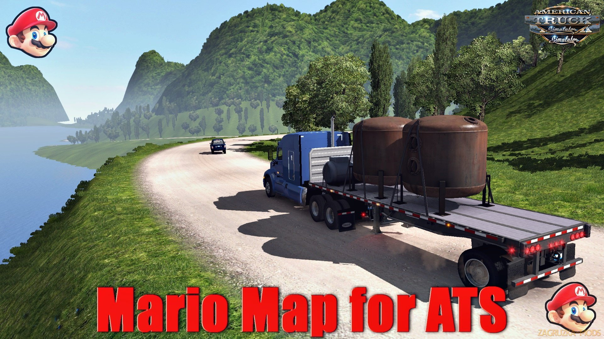 Mario Map for Ats (1.33.x )