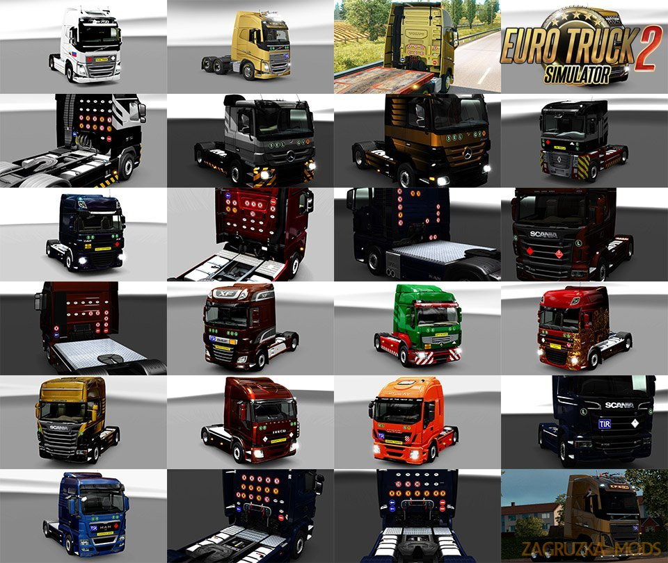 Signs on your Truck v1.1.00 by Tobrago [1.33.x]