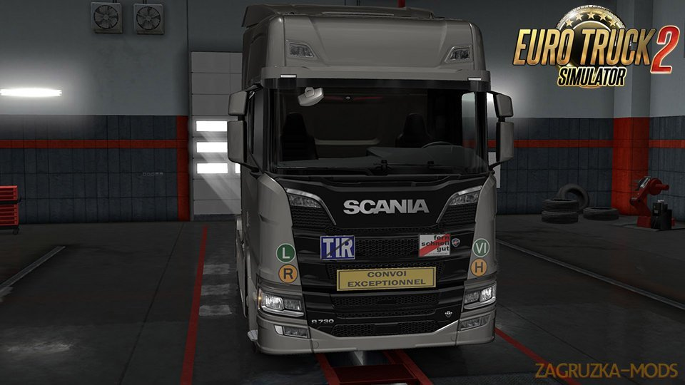 Signs on your Truck v1.0.99.08 by Tobrago [1.33.x]