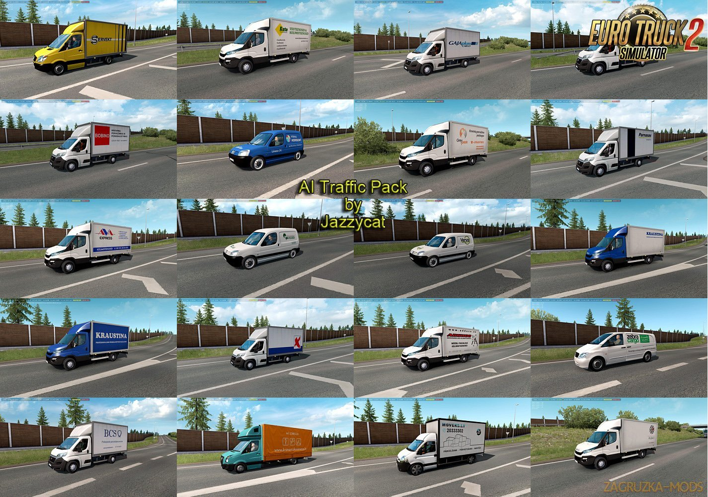 AI Traffic Pack v9.2 by Jazzycat