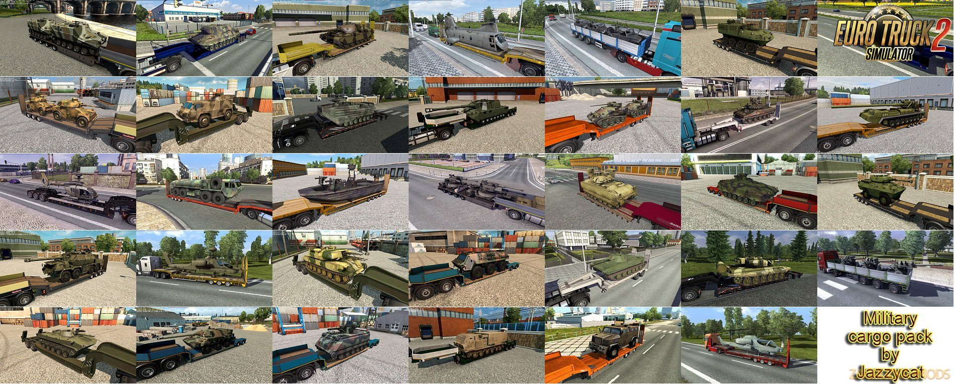 Military Cargo Pack v3.2 by Jazzycat