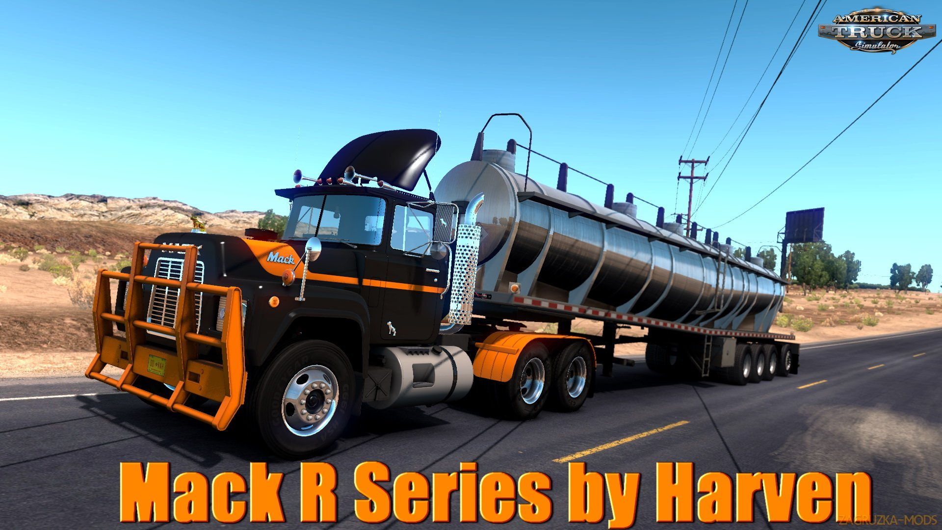 Mack R Series v1.3 by Harven (1.33.x) for ATS