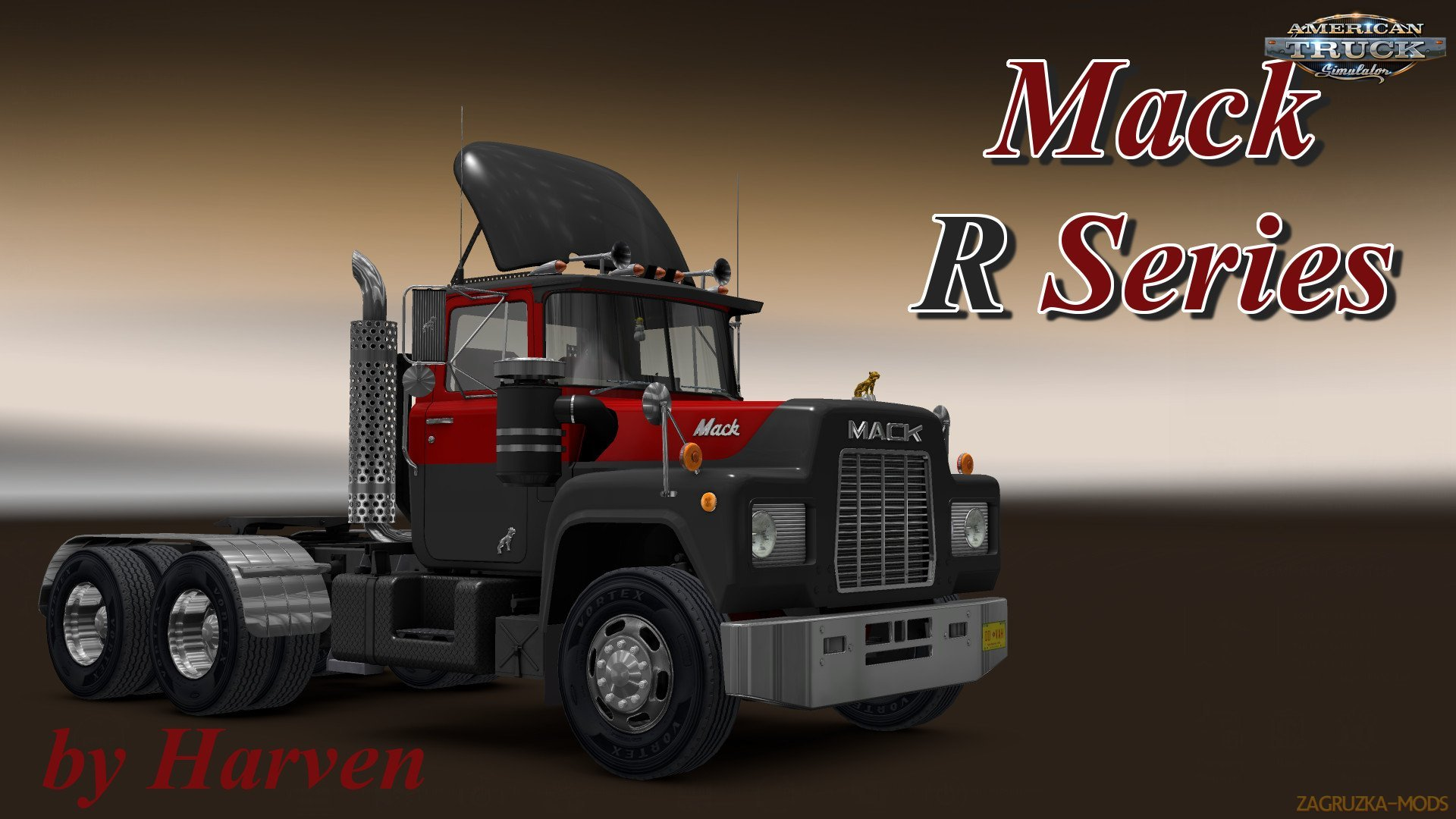 Mack R Series v1.5 by Harven (1.37.x) for ATS