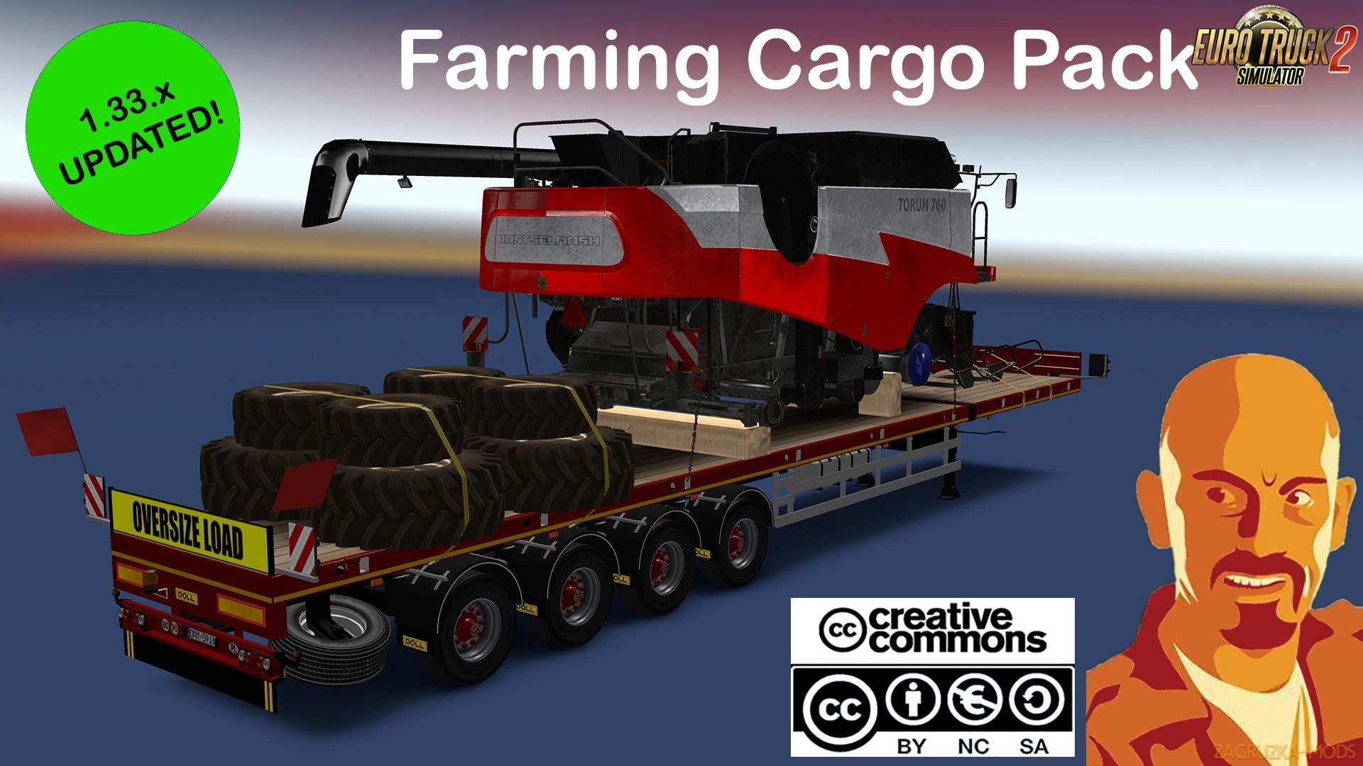 Farming Cargo Pack for Ets2 [1.33.x]