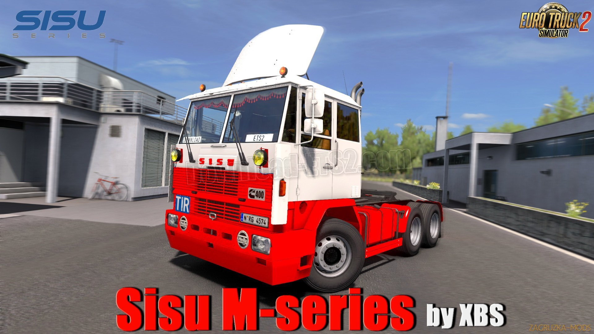 Sisu M-series + Interior v1.1 by XBS (1.33.x) for ETS2