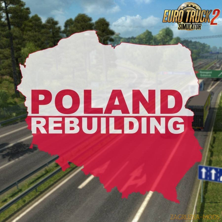 Poland Rebuilding Map v2.3.1 (1.33.x) for ETS2