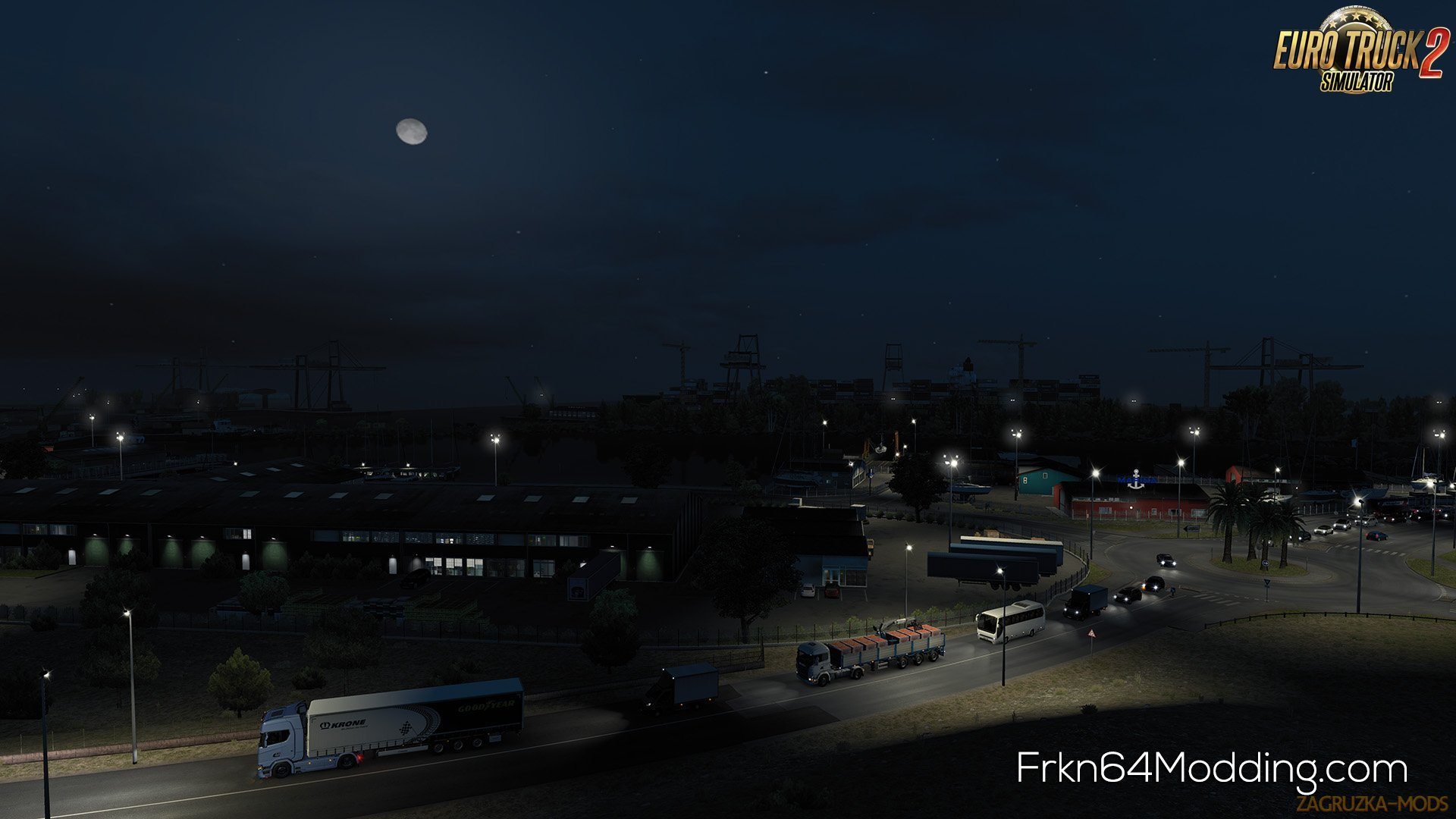 Realistic Graphics Mod v3.0 by Frkn64 (1.35.x) for ETS2