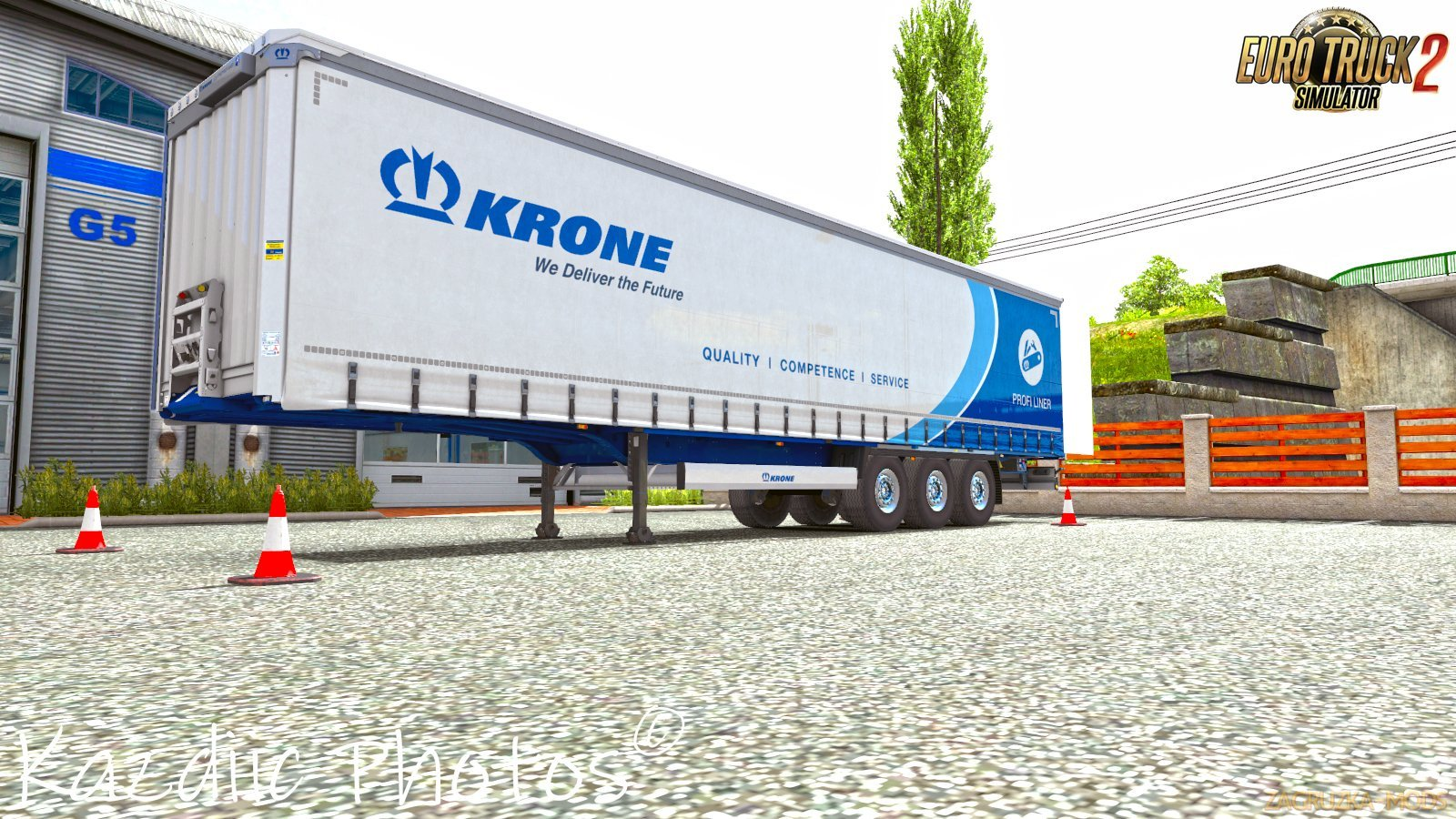 Krone Trailer Open by Kazdiic