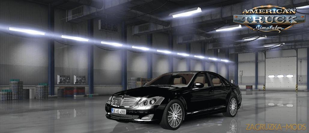 Mercedes Benz s350 4matic 2009 + Interior v1.0 (1.33.x) for ATS