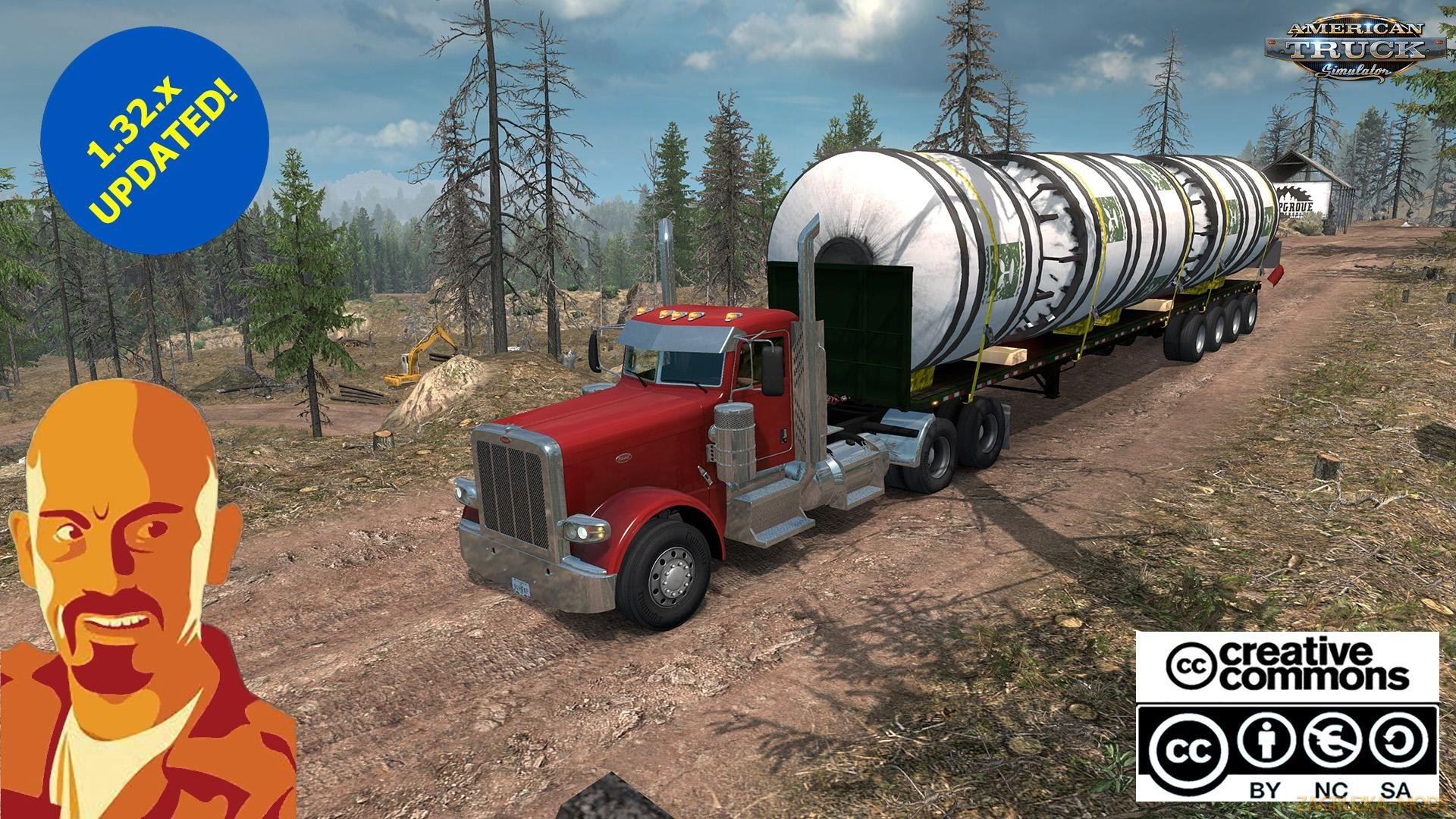 Oversize Overweight Trailers U.S.A. v1.0 (Fixed) (1.33.x) for ATS