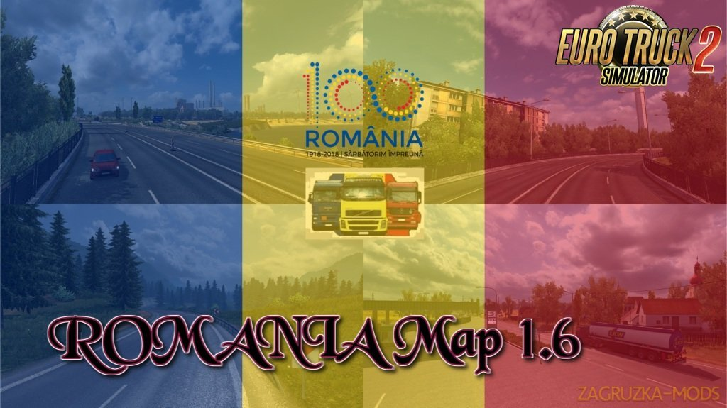 ROMANIA Map v1.6 by MIRFI (1.33.x)
