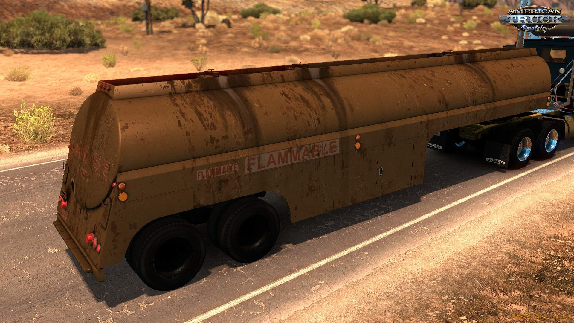 Ownable 50s Fruehauf Tanker Trailer - Duel v1.0 (1.33.x) for ATS