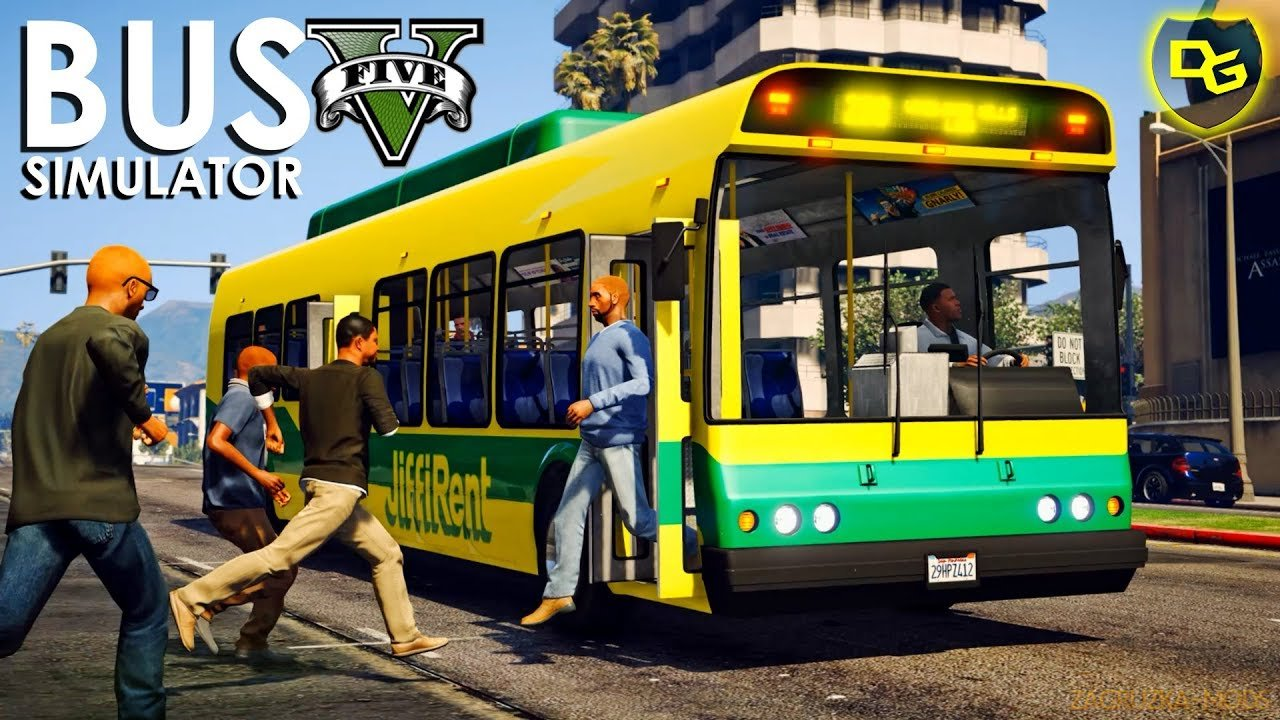 Bus Simulator Mod v1.0 for GTA 5
