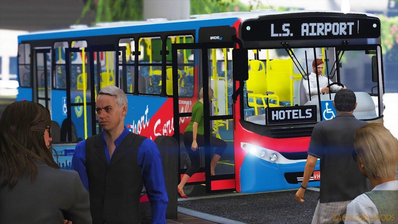 Bus Simulator Mod v1.2 for GTA 5