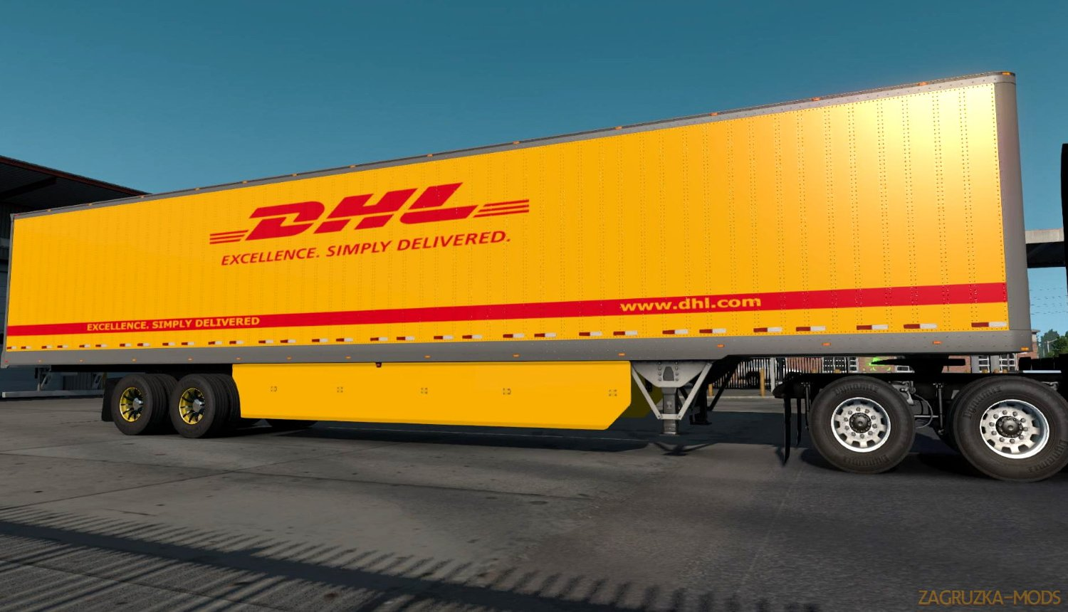 DHL Worldwide Express Combo Skin v1.0 (1.33.x) for ATS
