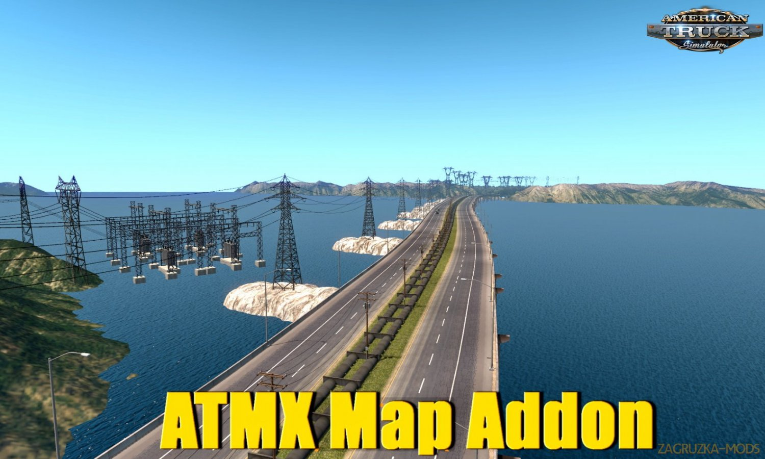 ATMX Map Addon Alpha v0.2 by Alta Tension MX (1.33.x) for ATS