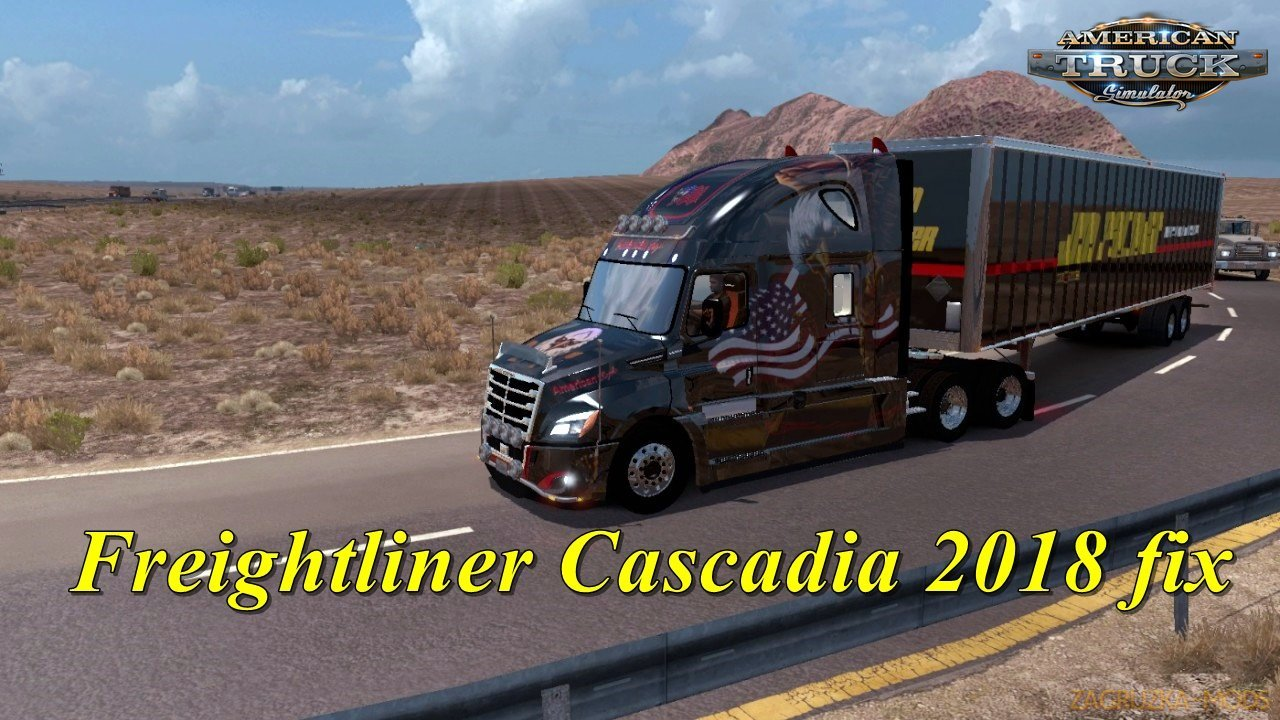 Freightliner Cascadia 2018 v1.8 Edit by galimim (1.33.x) for ATS