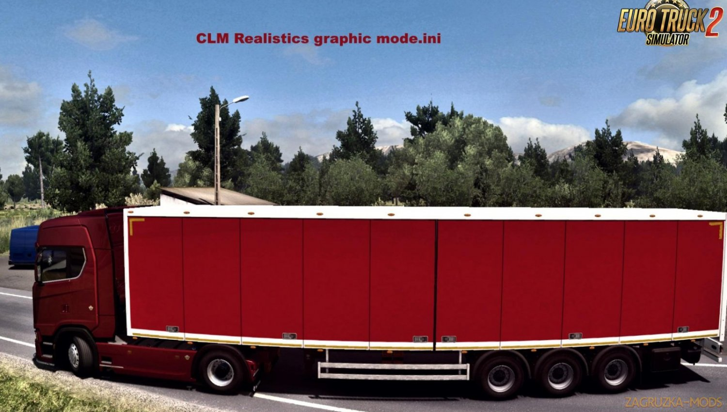 CLM Graphics and Redux Graphics Mods v1.0 (1.33.x) for ETS2